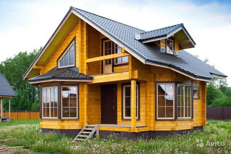 Фото брусовых домов проекты